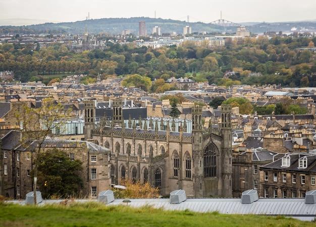 Britische mittelalterliche stadt, stadtbild