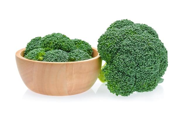Brokkoli isoliert