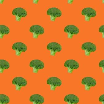 Brokkolikohlmuster. gesundes essen. vegetarismus.