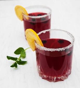 Brombeer limonade