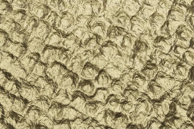 Bronze textur hintergrund. goldene strukturierte wand. 3d-rendering.