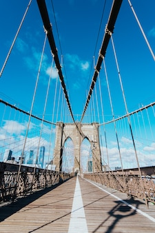 Brooklyn-brücke, new york city