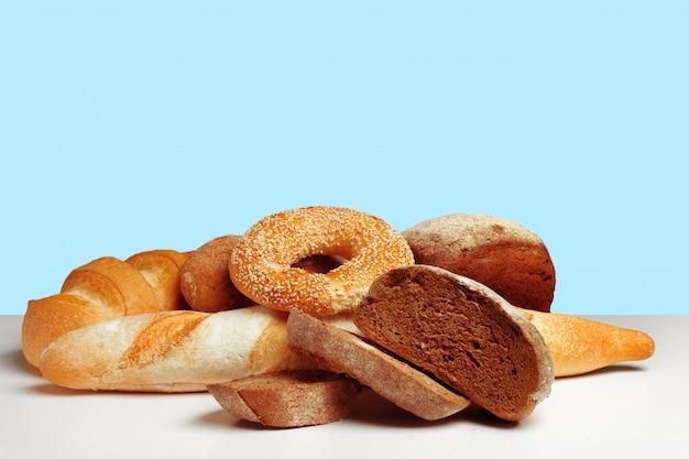 Brot auf dem tisch