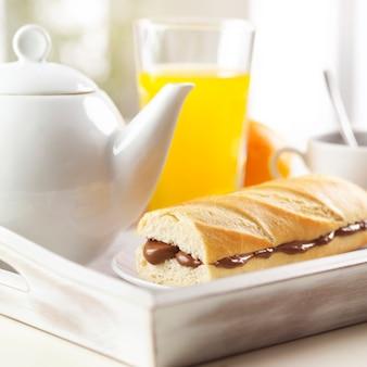 Brot, essen, tee