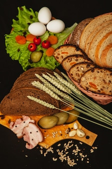 Brot in der innenfotografie