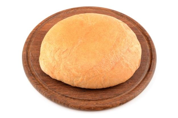 Brot isoliert auf weiß