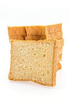 Brot, isoliert auf weiss