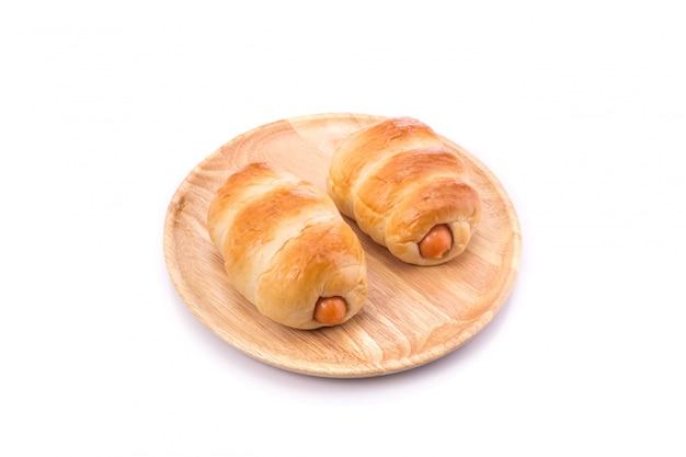 Brot mit wurst.