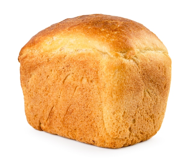 Brotstein nah oben isoliert