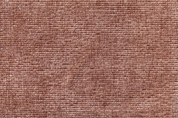 Brown-hintergrund vom weichen textilmaterial.
