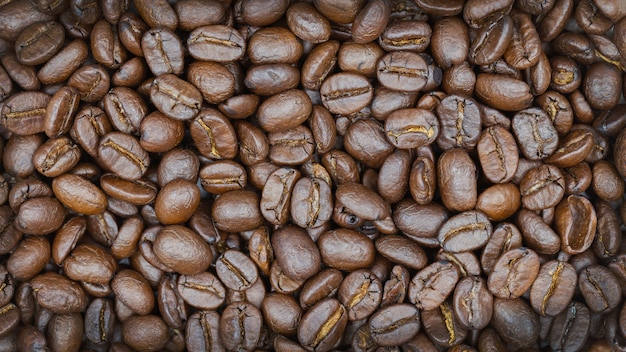Brown-röstkaffeebohnebeschaffenheitshintergrund.