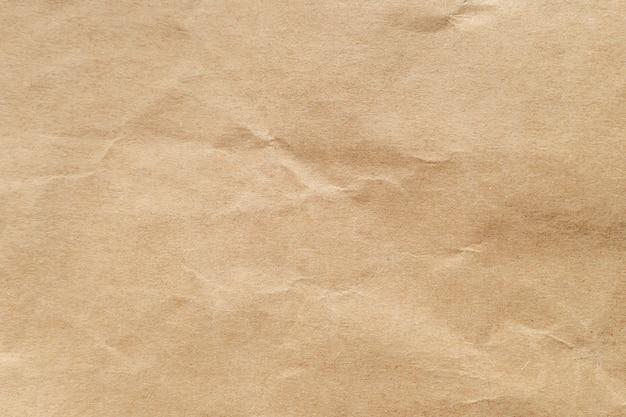 Brown zerknitterte papierbeschaffenheit für hintergrund.