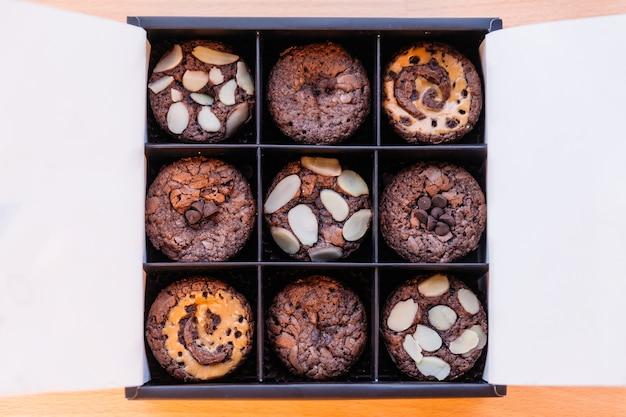 Brownie-cup-kuchen-set.
