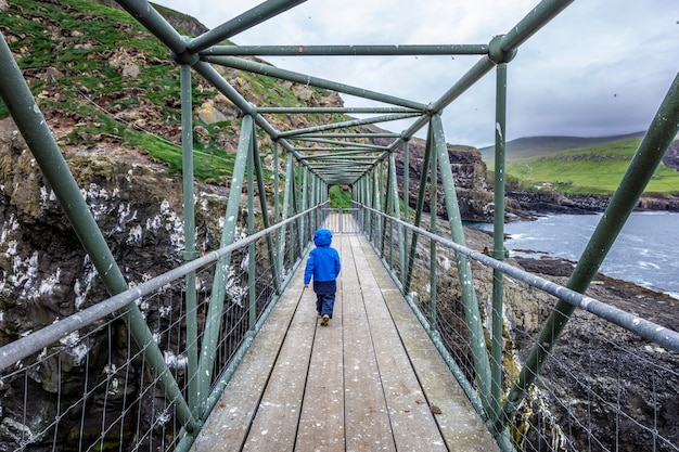 Brücke in mykines