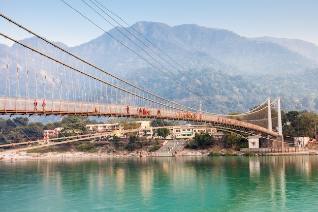 Brücke in rishikesh