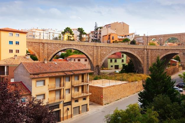 Brücke und aquädukt in teruel