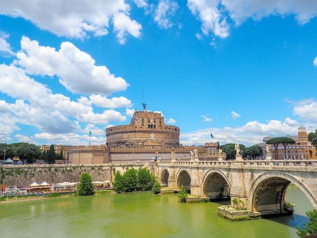 Brücke und schloss sant angelo, rom
