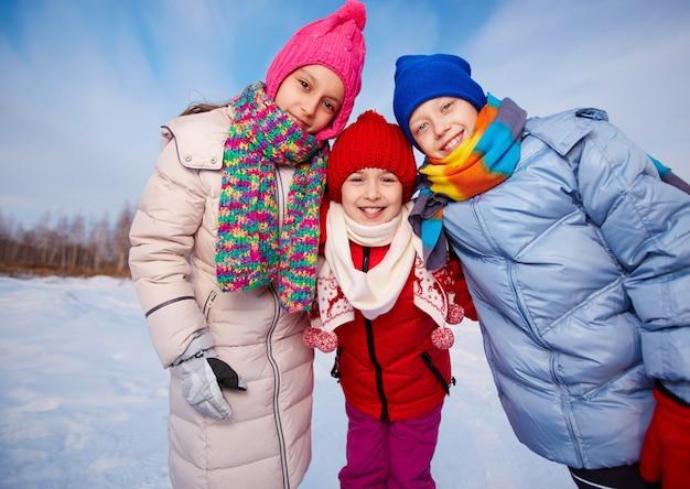Brüder winter genießen