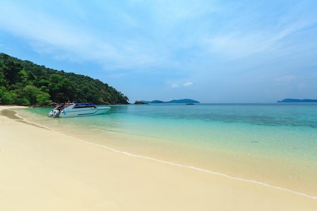 Bruer island, erstaunliche insel im süden von myanmar.