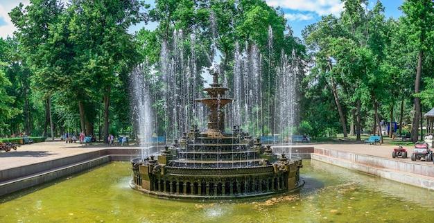 Brunnen im chisinau central park, moldawien