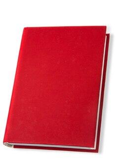 Buch rotes buch leeres buch bildung lernen hardcover buch rot