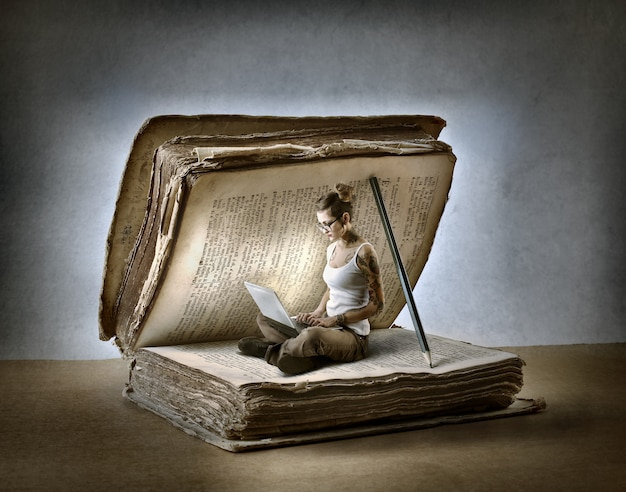 Buch versus digitaltechnik
