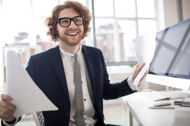 Buchhalter von arbeitsplatz