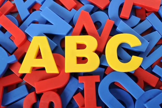 Buchstaben des alphabets
