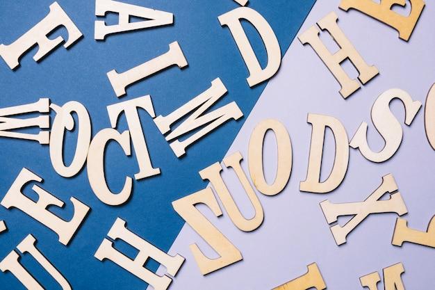 Buchstaben des englischen alphabets