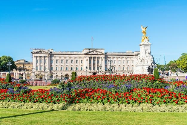 Buckingham palace in london, großbritannien