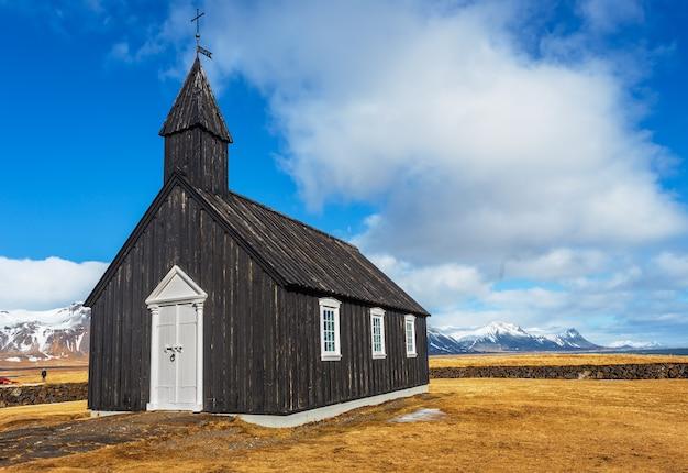 Budakirkja oder schwarze kirche von budir
