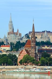 Budapest-morgenansicht.