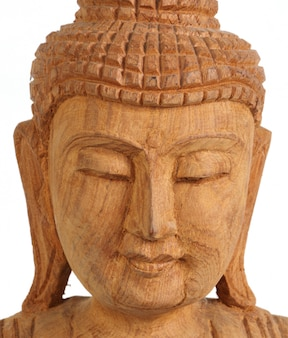 Buddha figur nahaufnahme