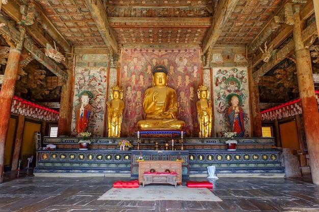 Buddha-statue am bulguksa-tempel