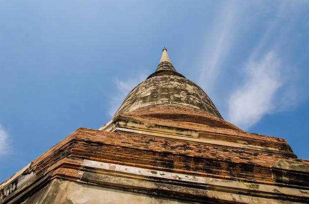 Buddha-statuen und tempel.