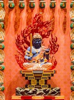 Buddha zahn relikt tempel in singapur