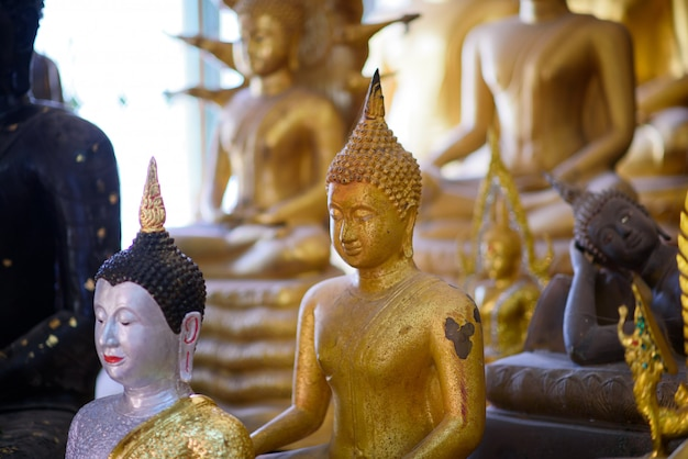 Buddhismus, thailand buddha, buddha-statue