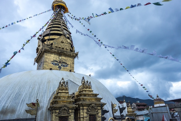 Buddhistischer tempel katmandu