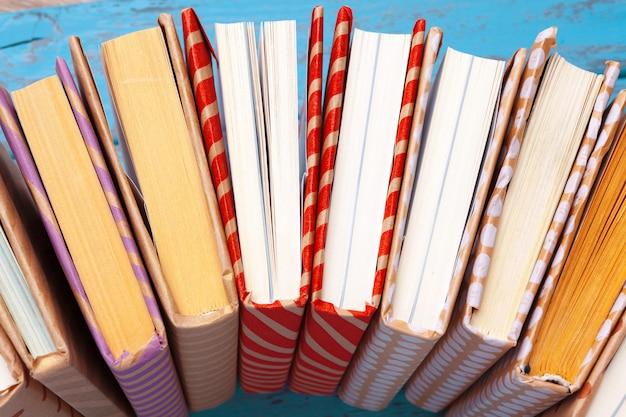 Bücher nahaufnahme