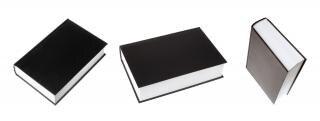 Bücher, schwarz