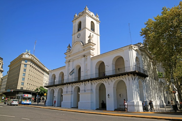 Buenos aires cabildo museum, ehemaliger stadtrat während der kolonialzeit, buenos aires, argentinien
