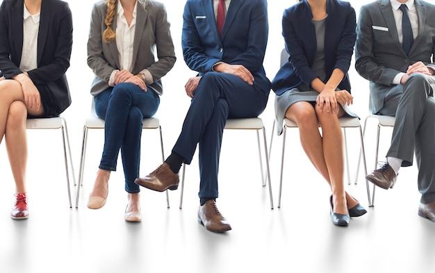 Büroangestellter teamwork employee variation concept