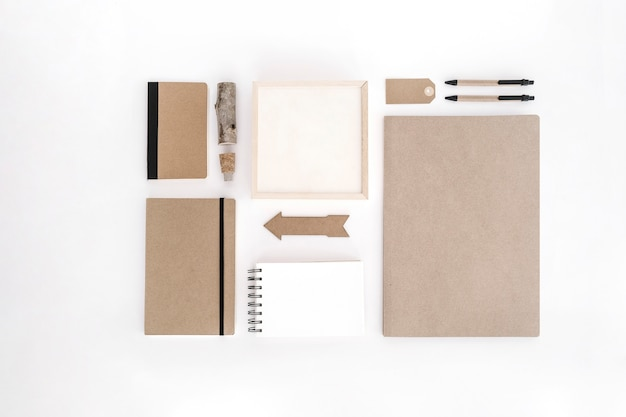Bürobedarf aus kraftpapier