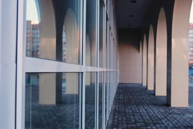 Bürogebäude aus glas