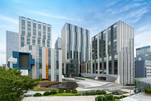 Bürogebäude des finanzplatzes