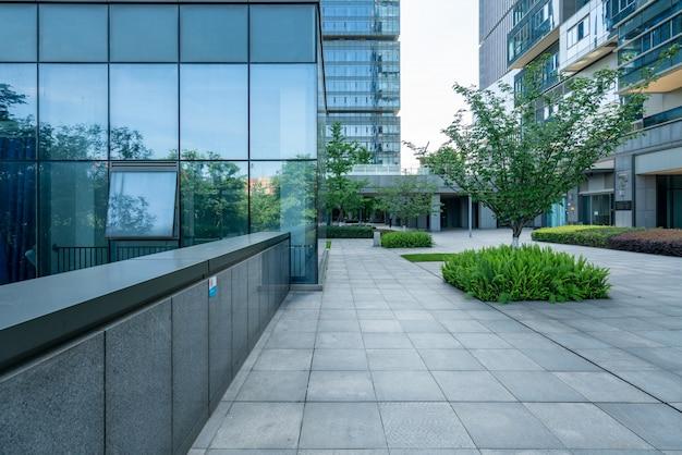 Bürogebäude des handelszentrums Premium Fotos