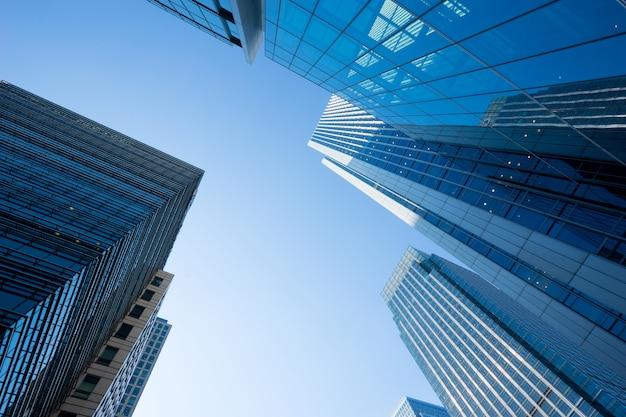 Bürogebäude in london, großbritannien