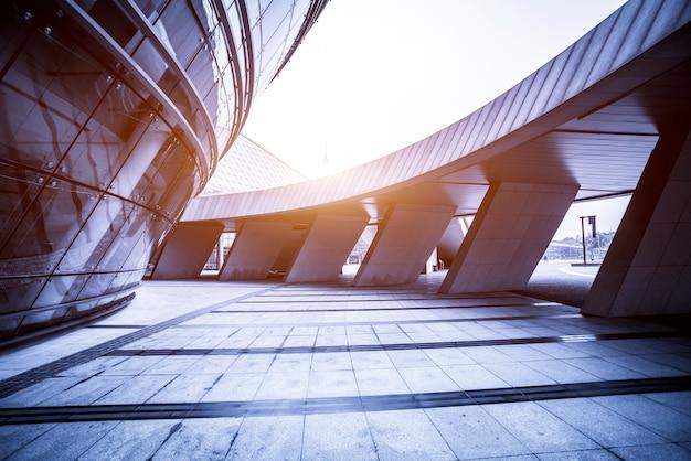 Bürogebäude moderner städtischer gebäude in china