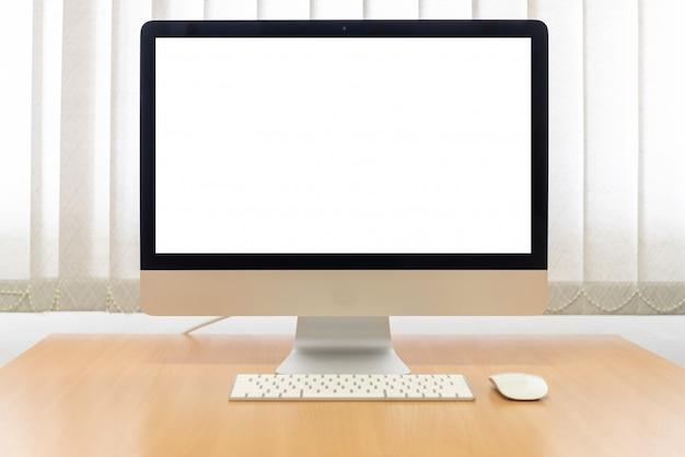 Büromonitor-computer