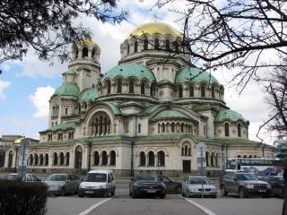 Bulgarien sofia - shurch al.nevski